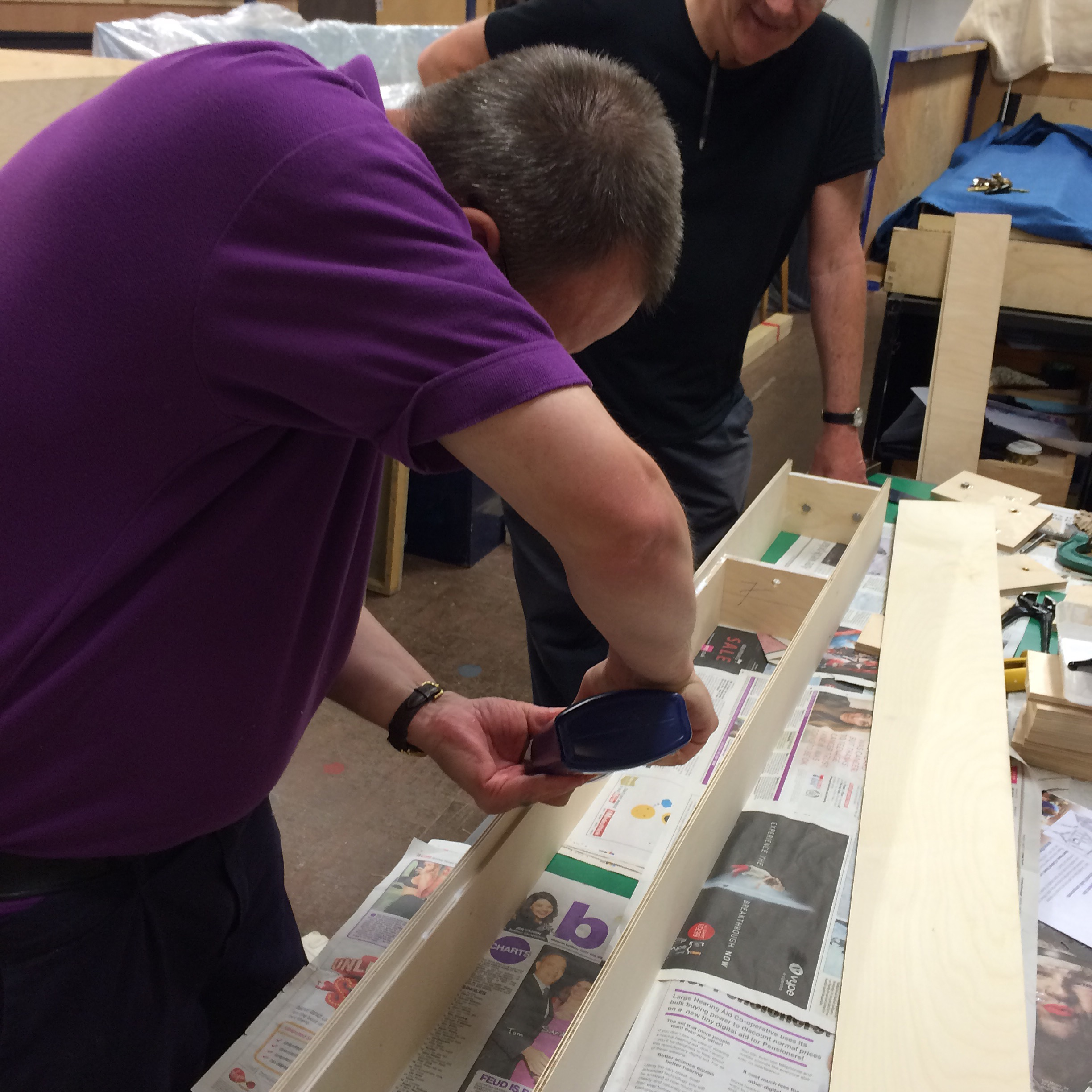 batched baseboard construction